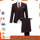 Terno de três peças (jaqueta de calças) Blazer Dress Men's Business Suit