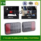 2 parti del riflettore LED di nebbia di CC d'inversione 12V dell'indicatore luminoso per la jeep