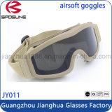 Óculos de proteção militares do melhor preço com seus óculos de proteção de segurança da visão noturna de Frameless do logotipo