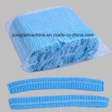 PE plástico e tampão Bouffant redondo não tecido dos PP que fazem a máquina
