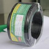 Силовой кабель куртки сердечников Rvv 2*2.50mm&Sup2 2 круглый твердый прессованный/силовой кабель 2-Сердечника Rvv круглый прессованный твердый обшитый