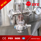 Feito na China Tanque de equipamento de cerveja, fermentador cónico industrial de aço inoxidável