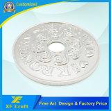 Monete all'ingrosso dei soldi di metallo del fornitore per il ricordo (XF-CO22)