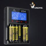 Lader van de Batterij van Xtar Vc4 de Digitale de Beste Lader van de Batterij van Lithium 18650 de Authentieke Lader