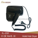 An der Wand befestigter Haartrockner für Hotel-Badezimmer-Gebrauch