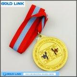 Médaille d'alliage de zinc Custom Challenge Coin Taekwondo Médailles Prix sportif
