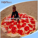 卸し売り新しいデザイン円形のビーチタオル、テリーまたはベロアの円形タオル
