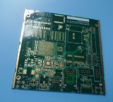 PWB de múltiples capas de la tarjeta de circuitos impresos con la tarjeta del PWB del oro de la inmersión