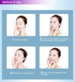 Máscara protetora caseiro da camomila do cuidado de pele do zelo