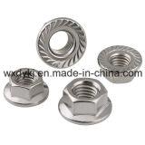Flansch-Nuts Edelstahl-Befestigungsteil-Lieferant von China ASME/ANSI B 18.2.2