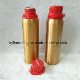bottiglia di alluminio aromatica degli oli essenziali dell'oro 250ml con la protezione evidente Aeob-9 di temperamento