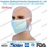 Maschera di protezione medica non tessuta del chirurgo con il legame sulla maschera di protezione