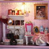 Chambre de poupée en bois intellectuelle de modèle neuf