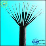 Fil/câble flexibles de cuivre de contrôle isolés par PVC du faisceau CAT6