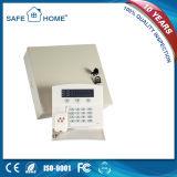 Systeem van de Alarminstallatie van het Netwerk van de Doos GSM+PSTN van het metaal het Dubbele voor de Veiligheid van het Huis (sfl-K2)