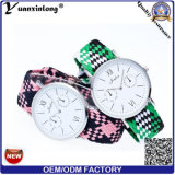 Nuevos relojes ocasionales de las mujeres de los hombres del reloj del deporte de Japón Movt de la voga del reloj de la alineada de las señoras del diamante del diseño Yxl-230
