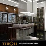 全家の家具の習慣Tivo-061VWのための安いメラミン台所デザイン