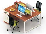 (HX-NCD386) Stazione di lavoro di vetro di legno delle sedi del MDF 2 del divisorio dell'ufficio