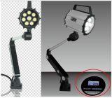 Luz larga 9.5W de la máquina del CNC del brazo LED en el ambiente áspero