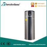 Pompa de calor ahorro de energía de la caldera de agua caliente