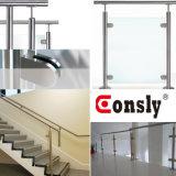 Ausgezeichnetes kundenspezifisches Entwurfs-Glasgeländer-Griff-Geländer-Handlauf-System