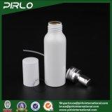 bottiglia bianca di alluminio dello spruzzo di colore 100ml con l'alluminio vuoto dell'atomizzatore del profumo del liquore della protezione del toner dell'indennità dello spruzzatore cosmetico della foschia