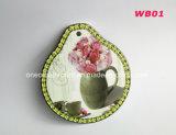 Sottobicchiere di ceramica della Tabella con sughero per la stuoia/Decration della tazza