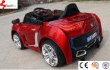 Carro de motores do carro do brinquedo do bebê da bateria com o 12V de controle remoto com luz