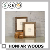 Горяч-Продайте картинную рамку прямоугольника типа простоты серую деревянную