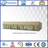 Système en pierre de revêtement de mur de panneau de nid d'abeilles