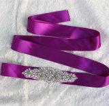 Funken des Rhinestone-Kristallsatin-Band-Hochzeits-Kleid-Zubehör-Brautriemens