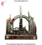 Подгонянный магнит холодильника металла 3D для подарков (YH-FM098)