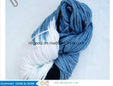 손 뜨개질을 하기를 위한 대나무 모직과 모직 혼합 털실
