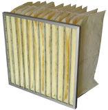 Taschen-Filtertüte-Typ Filter der Glasfaser-F5-F8