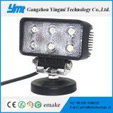 自動車部品のための低価格のクリー族LED作業ライト18W