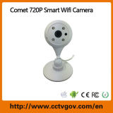 WiFi無線ネットワークが付いている720p夜間視界CCTV IPの保安用カメラ
