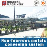 Система транспортера цуетного металла для завода металла