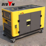 Generador diesel silencioso portable 10kVA del tiempo duradero refrigerado del bisonte (China) BS12000t 10kw del surtidor experimentado