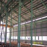 Edifício pré-fabricado da fábrica do aço estrutural com certificado do GV