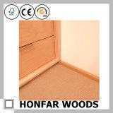Modernes Baumaterial-Quadrat-Holz, das für Fußboden umsäumt