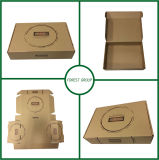 Caja de cartón ondulado Kraft para cartón ondulado de pared simple de Brown
