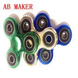 De groenachtig blauwe Gloed in Donkere 608 die Van uitstekende kwaliteit friemelt Spinner dragen
