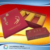 Regalo del embalaje del papel de la cartulina/rectángulo de encargo del té/del chocolate/del café (xc-hbt-004)