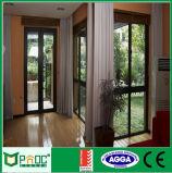 Алюминиевая дверь Casement с двойным стеклянным стандартом Австралии или стандартом Ce