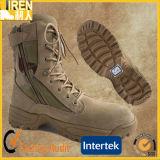 黄色いスエード牛革工場価格の安全靴の軍の戦術的な砂漠ブート