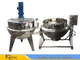 Ostruzione di cottura rivestita della caldaia dell'acciaio inossidabile che cucina caldaia 50~500L