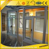 Ventana de aluminio y decoración interior modificadas para requisitos particulares profesional de la puerta