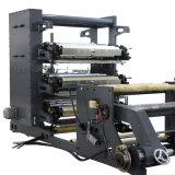 Chaîne de production du point de selle à grande vitesse de Flexography de papier de roulis (LD-1020D)
