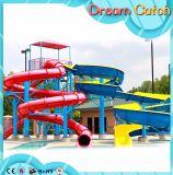 水公園に使用する多彩な競争水スライド