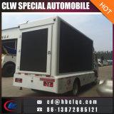 Caminhão móvel do anúncio ao ar livre do diodo emissor de luz do indicador de diodo emissor de luz da tela média do tamanho 3